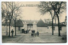 ROCHEFORT SUR MER Caserne Des Équipages De La Flotte ( 4e Dépôt - Animée Soldats Enfants Homme Vélo ) - Rochefort