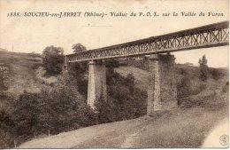 69. Soucieu En Jarrest. Viaduc Du POL Sur La Vallée Du Furon - France