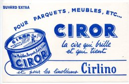 Buvard - Ciror - La Cire Qui Brille Et Qui Tient - Wash & Clean