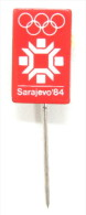 Olympic Pin - WINTER OLYMPIC GAMES , SARAJEVO 1984 - Olympic Games