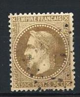 "YT 30 "" Napoléon III Lauré 30c. Brun "" 1867 Losange - 1863-1870 Napoleon III With Laurels"