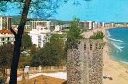 COSTA BRAVA - SANT ANTONIO DE CALONGE - Torre, Tour, Tower Valentina, Detalle, Détail, Detail - Circulée 1976 - Gerona