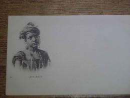 CPA MAGHREB: Portrait: NéGRO MANDIANT ( Non Voyagé) Ethnique - Cartes Postales