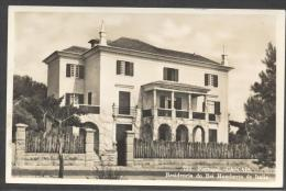 5674-CASCAIS(PORTOGALLO)- RESIDENCIA DO REI HUMBERTO DE ITALIA-1958-FP - Case Reali