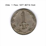 CHILE   1  PESO  1977  (KM # 208) - Chile