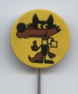Olympic Pin -SARAJEVO 1984 XIV WINTER OLYMPIC GAMES, Vintage Olympic Pin Badge, VUCKOSarajevo ´84 - Olympic Games