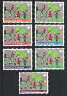 Haiti 1979 Mi# 1348-54 ** MNH Jahr Des Kindes YEAR OF THE CHILD - Haiti