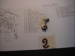 Chien N° 2 De 45 ACP - Decorative Weapons