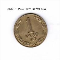 CHILE   1  PESO  1978  (KM # 208) - Chile
