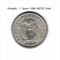 ECUADOR   1  SUCRE  1946  (KM # 78.2) - Ecuador
