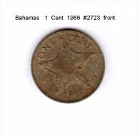 BAHAMAS   1  CENT  1966  (KM # 2) - Bahamas