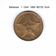 BAHAMAS   1  CENT  1969  (KM # 2) - Bahamas