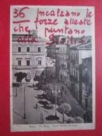 Enna - Via Roma E Piazza Vittorio Emanuele - 1942 - Viaggiata - Enna