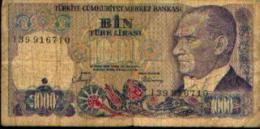 Turquie - 1000 Lires - Tunisie
