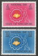 Singapore. 1962 National Day. MH Complete Set - Singapore (1959-...)