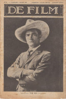 1928 Silent Film Movie Magazine Tom Mix Cowboy - Magazines & Newspapers