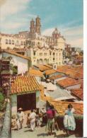 Taxco Guerrero - Mexico Mexique - Vista Panoramica - Animated 1950s - Written - VG Condition - Mexico