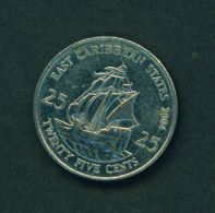 EAST CARIBBEAN STATES - 2004  25c Circ. - Caraïbes Orientales (Etats Des)