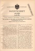 Original Patentschrift - E. Gerstäcker In Vryheid , Südafrika ,1902, Rolle Für Photogr. Film , Photographie , AbaQulus ! - Historische Dokumente
