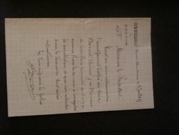 Mont Sur Marchienne - Police -verification Population - 5 Juillet 1895 - Police & Gendarmerie