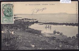 Sénégal - Environs De Dakar : Ouakam - La Pêche ; Timbre Afrique Occidentale Française Sénégal : 1912 (12´875) - Sénégal