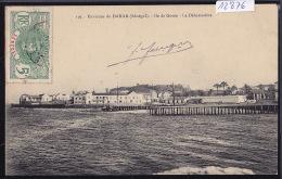Sénégal - Environs De Dakar : Ile De Gorée, Le Débarcadère; Timbre Afrique Occidentale Française Sénégal : 1912 (12´876) - Sénégal