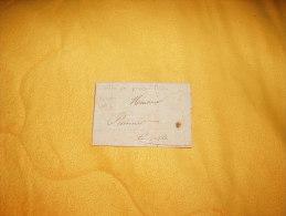 LETTRE DE 1831 A IDENTIFIER /  ROUEN / LETTRE PAR PASSEUR PRIVE ?. - 1801-1848: Precursors XIX