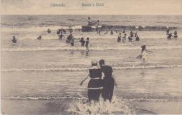 Ostende  - Bains à Midi. - Afgestempeld 1914 - Oostende