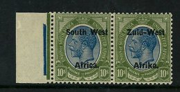 (3046) -S�dwest Afrika, 1923 Kings Head  s10/-, unmounted mint, postfrisch