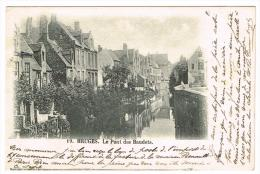 """""""Bruges - Le Pont Des Baudets"""" - Brugge"""