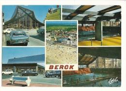 Cp, 62, Berck-Plage, La Nouvelle Piscine, Multi-Vues, écrite - Berck