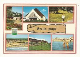 Cp, 62, Stella-Plage, Multi-Vues, écrite - Autres Communes