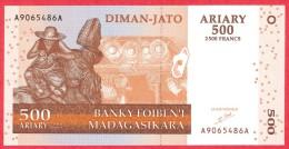 Madagascar - 500 Francs 2004 UNC / Papier Monnaie - Madagascar - Madagascar