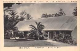 ILES COOK RAROTONGA ECOLES DES SOEURS / CONGREGATION SAINT JOSEPH DE CLUNY PARIS - Cookeilanden