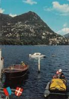 BR57407 Lugano Montre Bre   Post Mark Cancel    2 Scans - TI Tessin