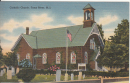 Toms River New Jersey N.J. - Catholic Church - Unused - VG Condition - Tichnor Bros. Inc. - Toms River