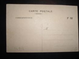 CARTE POSTALE CORRESPONDANCE F.M. ECRITE ET DATEE 11-1-40 - Marcophilie (Lettres)