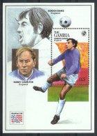 Mua717 SPORT WK VOETBAL SOCCER WORLD CHAMPIONSHIP FOOTBAL FUSSBALL WELTMEISTERSCHAFT GAMBIA 1994 PF/MNH - World Cup