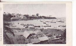 7-Freetown-Sierra Leone-Colonia Britannica-British Colony-Colonie Britannique-Barche-Villaggio-Boats-village-v.1906 - Sierra Leone