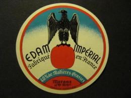 17717A - étiquette De Fromage - Edam Impérial - Aigle - Fromagerie De Marans - Charente-Maritime 17 - Fromage