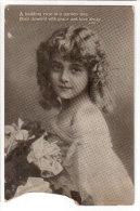 Portrait Of A Child,  Valentine´s Series Postcard,  Lot # V24 - United Kingdom