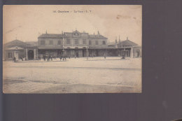 Cpa ,   Chartres , La Gare        ,    Voyagé - Chartres