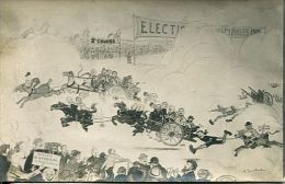 N°33814 -cpa Cherbourg -election 1919 - - Cherbourg