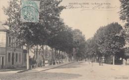 CPA - Nogent Sur Seine - La Route De Provins - Nogent-sur-Seine