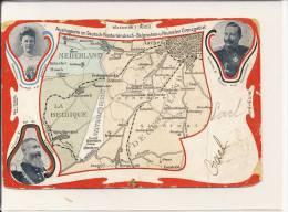 Briefkaart - Vierlandenpunt (!) - Van Vaals Naar Arnhem - 1907 (zeer Zeldzaam) - La Calamine - Kelmis