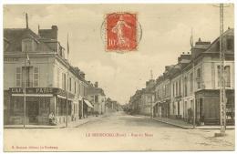 LE NEUBOURG Rue Du Mans Café De Paris (Dumont) Eure (27) - Le Neubourg