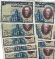 25 Pesetas 1928 - [ 2] 1931-1936 : Republiek