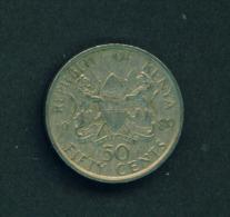 KENYA - 1989 50c Circ. - Kenya
