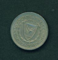 CYPRUS - 1963 25m Circ. - Cyprus