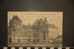 CP, 79, Coulonges Sur L'autize Le Chateau N°352 Edition N Alix Tabacs Journaux Niort - Coulonges-sur-l'Autize